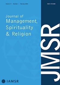 IAMSR Journal Cover